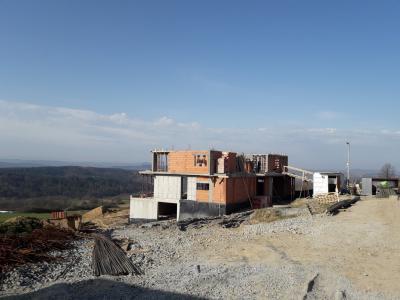 Budowa domu w Mogilanach etap 2